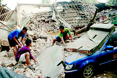 印尼大地震