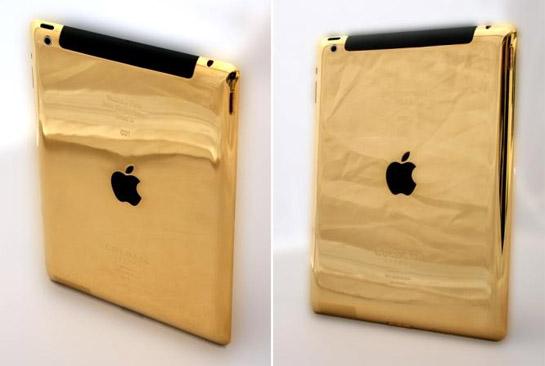 苹果制造出世界上首个24克纯金iPad 3