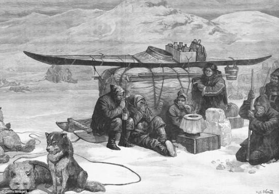 加拿大�l�F百年前消失沉船:船�T死前吃人充�